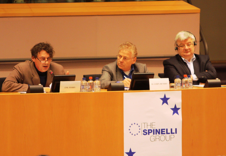 Conferenza su Stati Uniti D'Europa