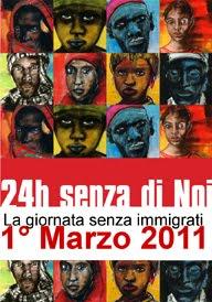 Primo Marzo 2011 - sciopero degli straineri