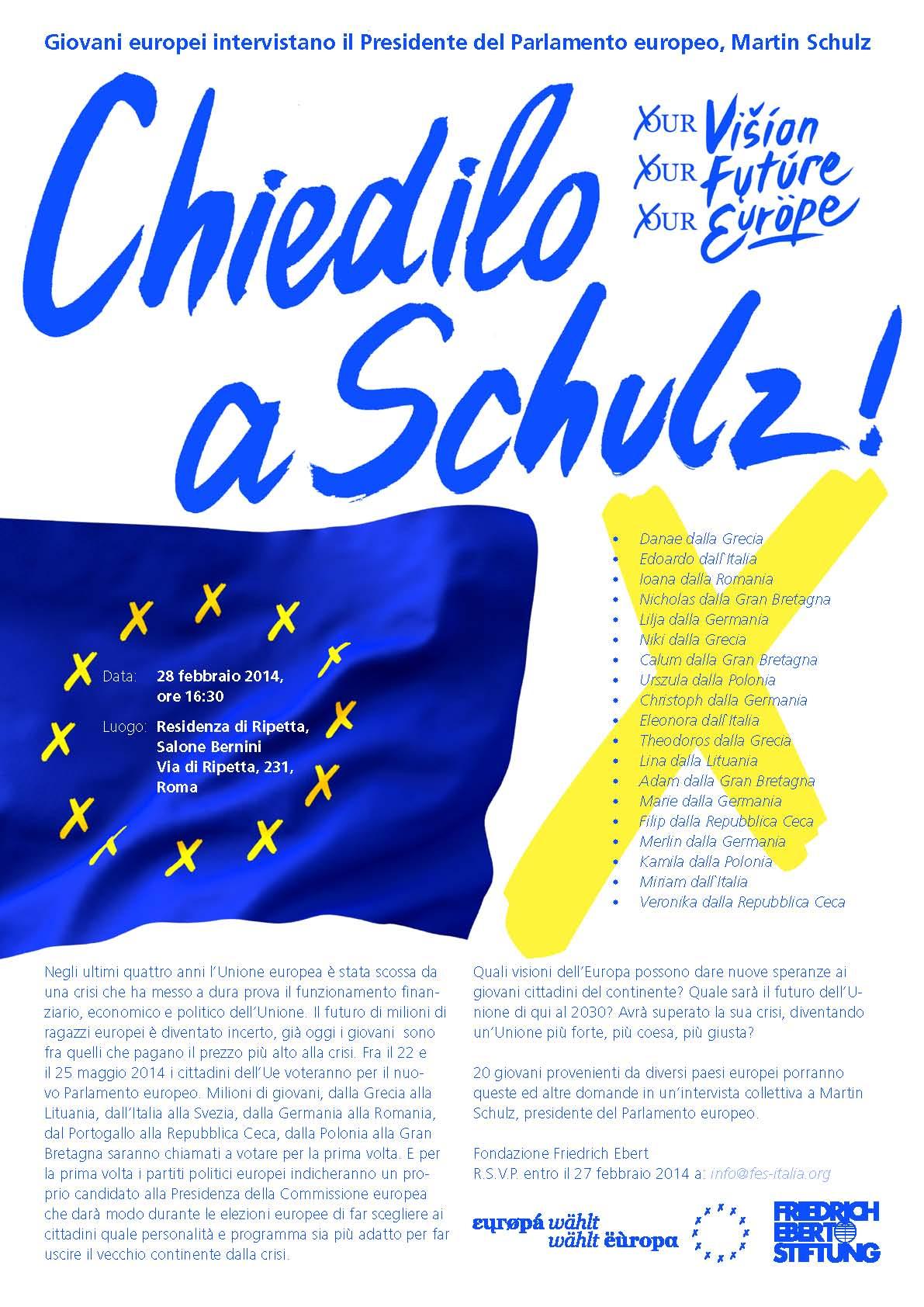 Chiedilo a Schulz!
